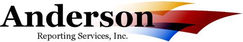 columbus, Ohio court reporters anderson logo