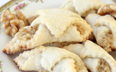 Recipe: Nut Roll Cookies by Jill Kulewsky