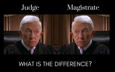 What is the Difference Between a Judge and a Magistrate?